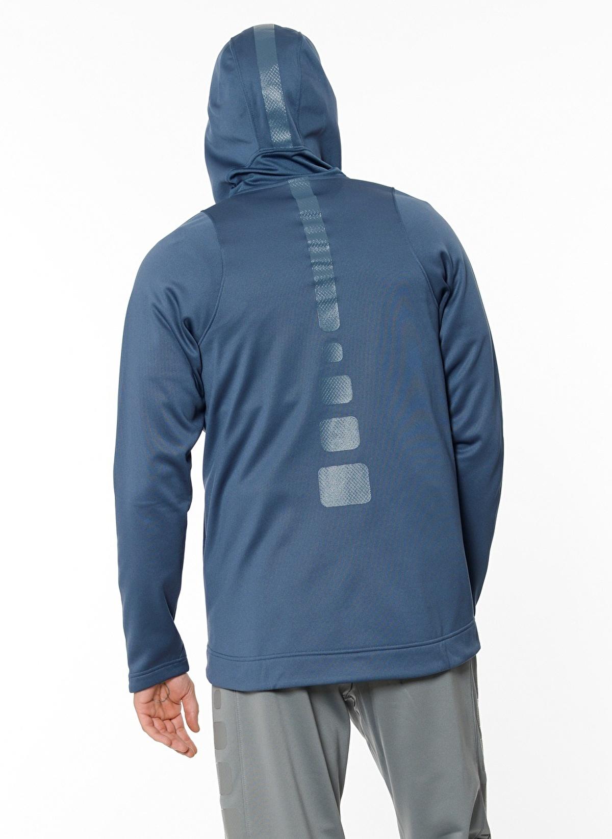 Nike Erkek Sweatshirt Squadron Blue Squadron Blue Wh  23ae85b9bc